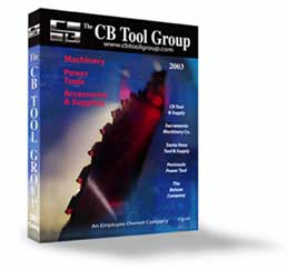 CB Tool Group catalog designed and produced by Bruce Philpott